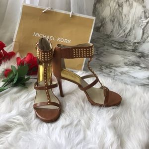 MK Studded Heels